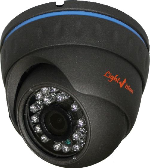 Уличная влагозащищённая купольная видеокамера 1,3 Мп VLC-4128DA