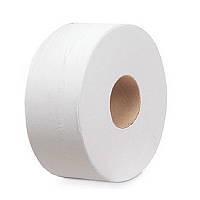 Бумага туалетная Jumbo рулон d=17 см 200/60/12 мм (натуральный цвет)