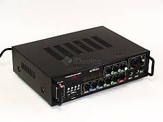 Усилитель звука UKC AV-313BT Bluetooth, USB,FM