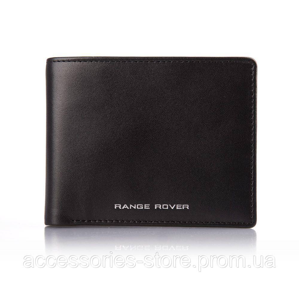 Кожаный кошелек Range Rover Leather Wallet, Black
