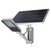Уличный светильник 40W на солнечной батарее 80W