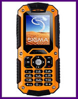 Телефон Sigma mobile X-treame IT67 Dual Sim (ORANGE). Гарантия в Украине 1 год!