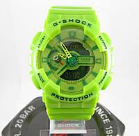 Часы Casio G-Shock GA-110 Lime. Реплика ТОП качества!, фото 1