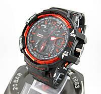 Часы Casio G-Shock GW-A1100 black/red. Реплика ТОП качества!, фото 1