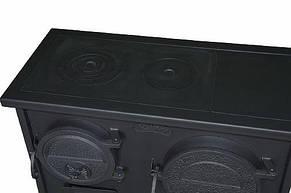 Печь-плита ЭКТОР с духовкой отопительно-варочная МЧП ВИТ, фото 3