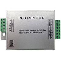 Усилитель контроллера RGB HOROZ ELECTRIC AMPLIFIER-12A 144W 12V-24V IP33 12A