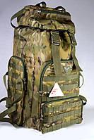 Камуфляжный туристический рюкзак на 60 л.