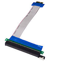 Райзер pcie x1 rizer для видеокарты майнинг райзер pci - e 16x