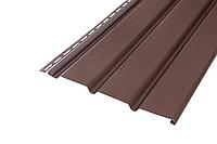 Панель Софит ASKO неперфорированная коричневая 1,07 м.кв.