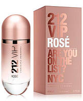 Женская парфюмированная вода Carolina Herrera 212 Vip Rose 80 мл