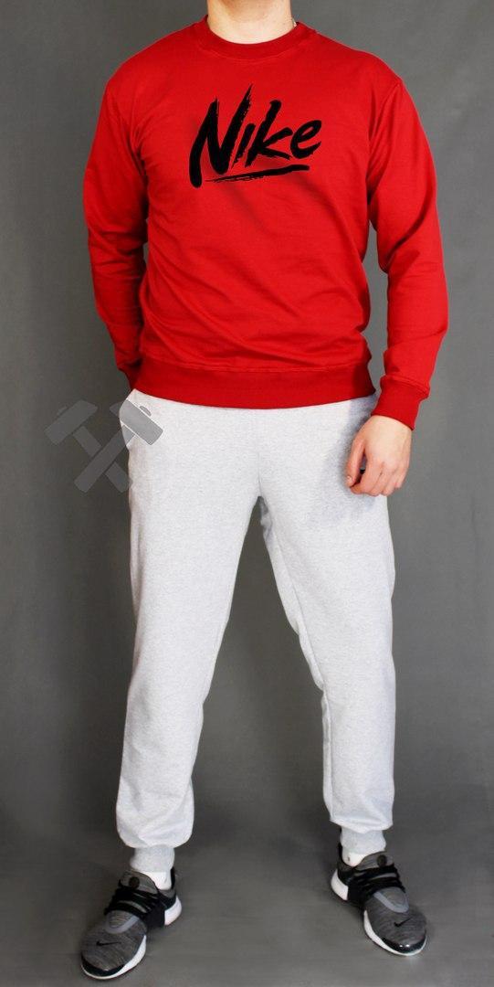 Спортивный костюм Найк мужской, брендовый костюм Nike трикотажный (на флисе и без) копия