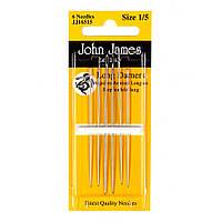 Long Darners №9 (6шт) Набор длинных штопальных игл John James (Англия) JJ16509