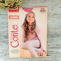 Капронові колготки для дівчинки Conte Blanca 128-134, рожевий