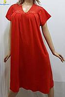Ночная рубашка женская из хлопка, размер 52-54, Украина 120-2