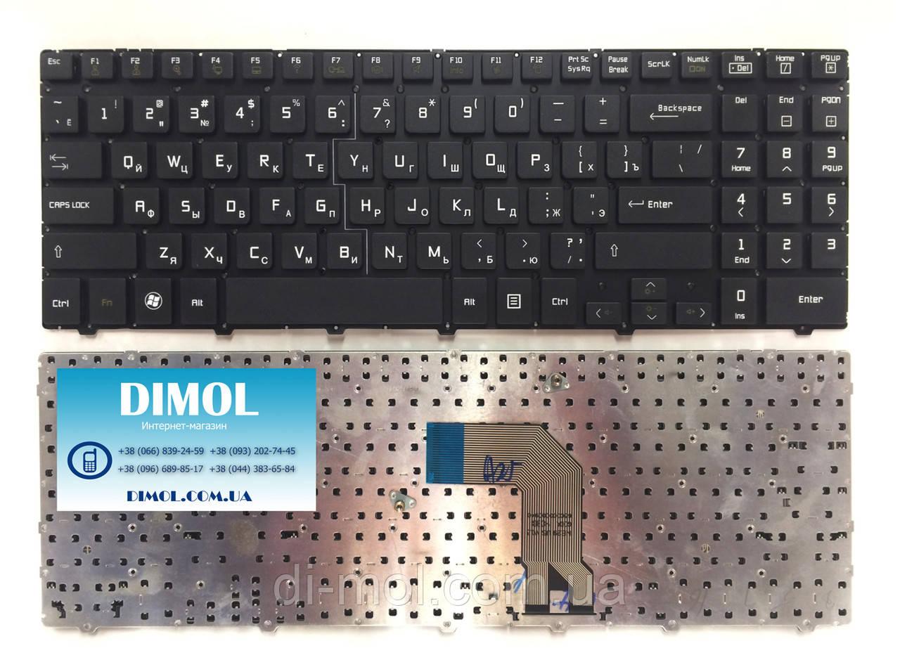 Оригинальная клавиатура для ноутбука LG S525, S530, SD530 series, black, ru