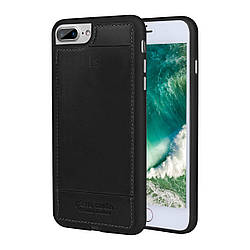 Чехол Pierre Cardin Leather Case iPhone 7 Plus Black