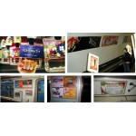 Размещение рекламы в метро Киева Постеры в вагонах Щиты на путевых стенах Эскалаторные своды Около входов