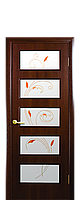 Межкомнатная  дверь Виктория  МДФ + Р1