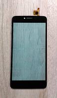 Оригинальный тачскрин / сенсор (сенсорное стекло) для Nomi i505 Jet (черный цвет)