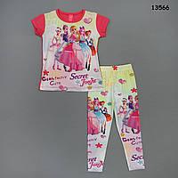 Летний костюм для девочки. 1-2;  3-4 года, фото 1