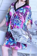 Красивое штапельное  домашнее платье