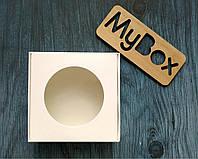 Коробка 100/100/35мм белая