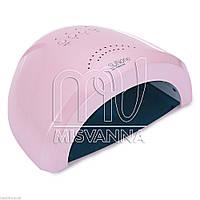 Профессиональная УФ лампа UV/LED SUNone на 36 Вт для сушки геля и гель-лака (pink)