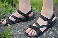 Босоножки, сандали мужские черные мягкие, удобные натуральная кожа (Код: 799) , фото 1