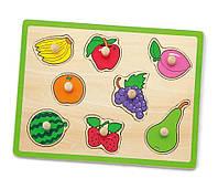 Пазл рамка-вкладыш Viga toys Фрукты (50020)
