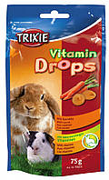 Витамины Trixie Vitamin Drops для грызунов с каротином, 75 г