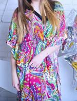 Лёгкое и удобное домашнее платье со штапеля
