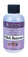 Жидкость для снятия лака, ананас EzFlow Pineapple Polish Remover, 118 мл