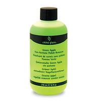 Жидкость для снятия лака яблоко China Glaze polish remover, 236мл
