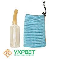 Искусственная вагина для кролей-производителей, стеклянная (малая)