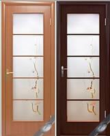 Дверь межкомнатная Виктория + Р3 (с рисунком)