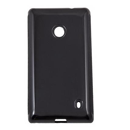 Чехол-накладка Drobak для Nokia Lumia 525 черный (216396) - A99.com.ua в Киеве