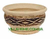 Кашпо керамический для цветов и декора. Объем 10 л
