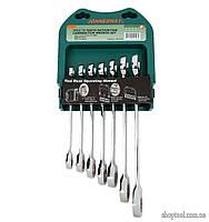 Набор ключей комбинированных трещоточных 7 предметов JONNESWAY W45107S