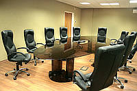 Конференц-стол из стекла на заказ