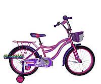 """Детский велосипед для девочек Crosser Kiddy 20"""""""
