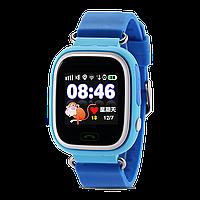 Детские телефон-часы с GPS трекером Smart Watch Q100 (TD-02) Blue