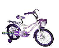 """Детский велосипед для девочек Crosser Kiddy 20"""" фиолетовый"""