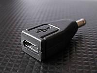 Переходник Micro USB - DC 3,5 мм, TRY PLUG, черный