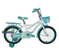 """Детский велосипед для девочек Crosser Kiddy 18"""""""