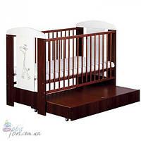 Кроватка детская Klups Safari Zyrafka (с ящиком)