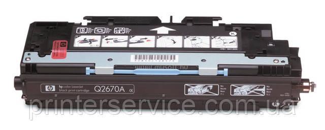 Картридж HP Q2670A (308A) black для цветных принтеров HP Color LaserJet 3500/3550/3700 series