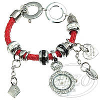 Часы-браслет Pandora Пандора (красные)