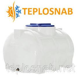 Емкость горизонтальная однослойная 200 литров  RGО 200 (85х58х55)