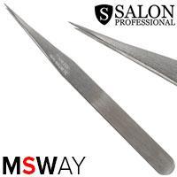 Salon Prof. Пинцет для наращивания ресниц длинный прямой 41626