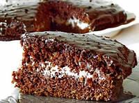 Шоколадный торт с кускус